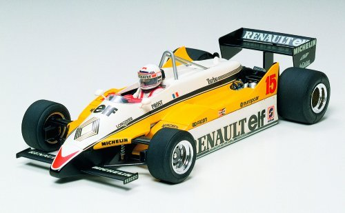 #20018 Tamiya Renault RE30B Turbo 1/20 Scale Plastic Model Kit,N