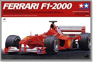 #20049 Tamiya Ferrari F1 -2000 1/20 Scale Plastic Model Kit,Need