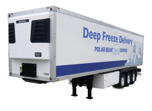 1/14 3 Axle Reefer Semi Trailer Kit (Deep Freeze)