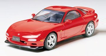 #24110 Tamiya Efini RX-7 1/24 Scale Plastic Model Kit,Needs Asse