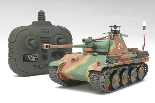 1/35 Tank Panther Type G Kit w/2.4GHz Tx/Rx