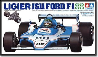 #20012 Tamiya Ligier JS11 Ford F1 1/20 Scale Plastic Model Kit,N