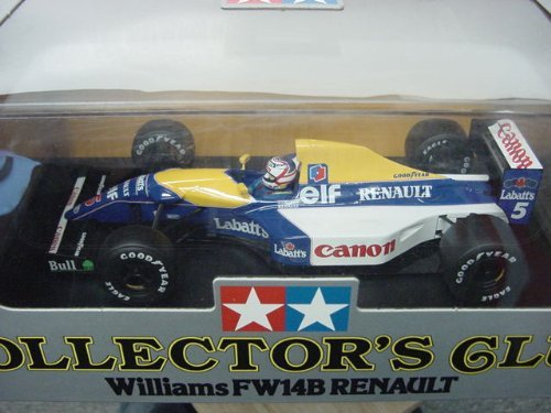 1/20 Scale Tamiya Diecast Collector's Club Williams FW14B Renaul