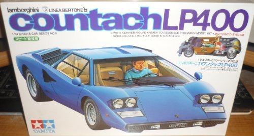 #2405 Tamiya Lamborghini Countach LP400 1/24 Scale Plastic Model