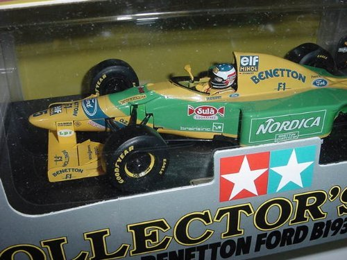 1/20 Scale Tamiya Diecast Collector's Club Benetton Ford B193B M