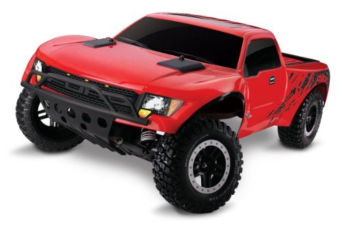 Traxxas 5806 F-150 SVT Raptor Ready-to-Race with 2.4GHz Radio