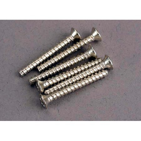 Screws, 3x25mm Countersunk (6)