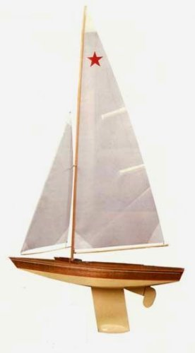 Star Class Wooden Boat Kit by Dumas